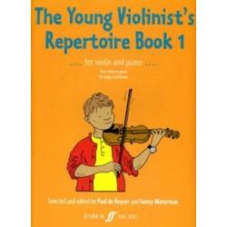 Keyser Paul de / Waterman Fanny The young Violonist' s repertoire, book 1 Violon et Piano