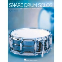 Ben HANS 40 Intermediate snare drum solos