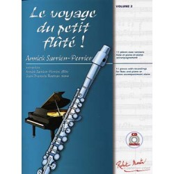 SARRIEN-PERRIER Annick Le PETIT FLÛTÉ CD play-along - Tome 2 Le Voyage du Petit Flûté