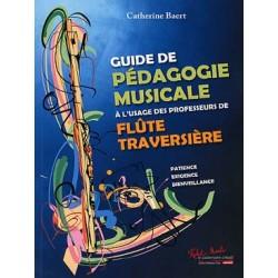 BAERT Catherine Guide de pédagogie musicale à l'usage des professeurs de flûte traversière