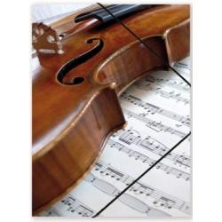 Chemise à élastiques violon