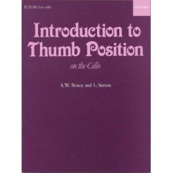Benoy A. W. / Sutton L. Introduction to thumb position on the Cello (/ pouce)