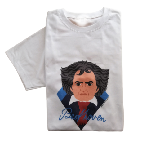 T-Shirt Beethoven taille M