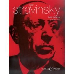 Igor Stravinsky Suite Italienne violon et piano