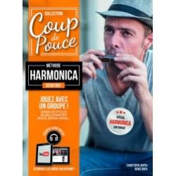 COUP DE POUCE Méthode Harmonica Débutant