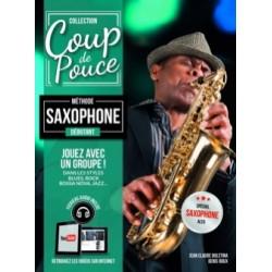 Denis Roux Gerard Audoux: Débutant - Saxophone - Partitions et CD Séries: Coup De Pouce