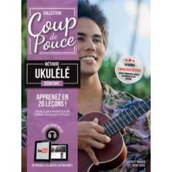 Denis Roux: Ukulélé Débutant - Partitions et CD Coup De Pouce