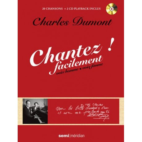 Chantez ! facilement (Charles Dumont)