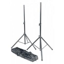 RTX Pack 2 stand enceintes métal - sac de transport noir