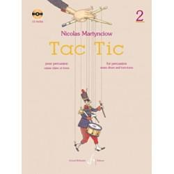 Nicolas Martynciow : Tac tic - Volume 2