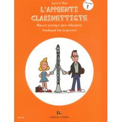 HUE Sylvie L'Apprenti clarinettiste Vol.1 Manuel pratique pour débutant