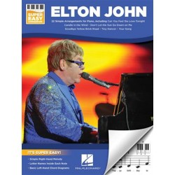 ELTON JOHN SUPER EASY SONGBOOK PIANO