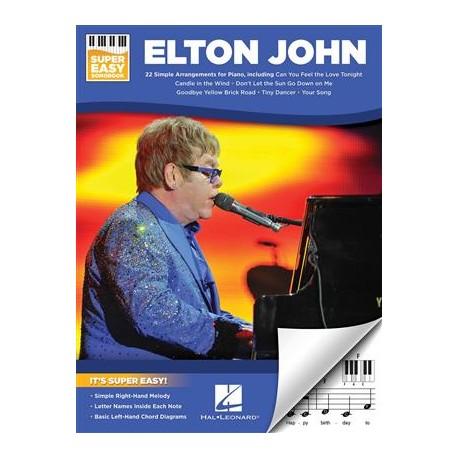 ELTON JOHN SUPER EASY SONGBOOK PIANO