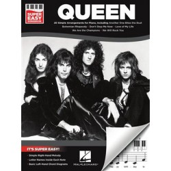 QUEEN SUPER EASY SONGBOOK PIANO