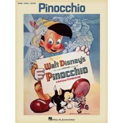 DISNEY PINOCCHIO PIANO VOIX GUITARE