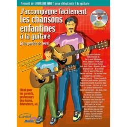 HUET J'ACCOMPAGNE FACILEMENT LES CHANSONS ENFANTINES A LA GUITARE