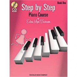 STEP BY STEP PIANO COURSE VOL 1