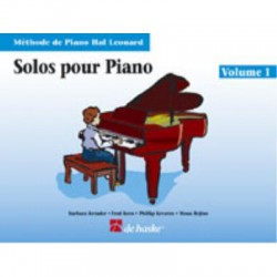 METHODE DE PIANO HAL LEONARD, SOLOS POUR PIANO VOL.1