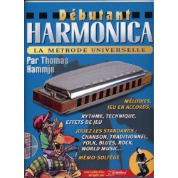 JJREBILLARD DEBUTANT HARMONICA + CD