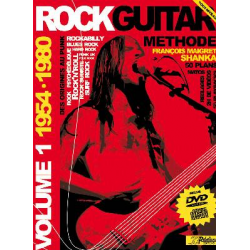 METHODE ROCK GUITAR VOL 1 CD + DVD