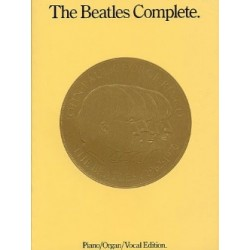 THE BEATLES COMPLETE MEDAILLON PIANO CHANT GUITARE