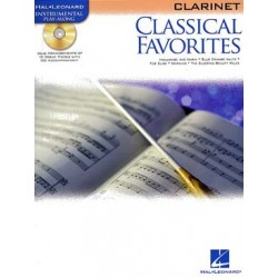 CLASSICAL FAVORITES AVEC CD POUR CLARINETTE
