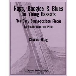 CHARLES HOAG - RAGS BOOGIES & BLUES CONTREBASSE