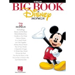 BIG BOOK OF DISNEY SONGS POUR VIOLON