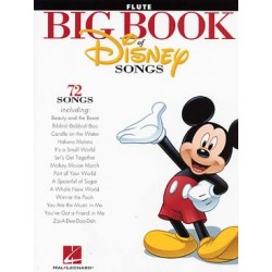 BIG BOOK OF DISNEY SONGS POUR FLUTE