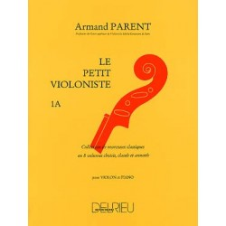Parent : Petit Violoniste (Le) Vol.1A~ Partitions et Parties (Piano Solo/Violon)