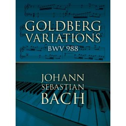 Bach J.S.: Goldberg Variations BWV988 (Dover)~ Album Instrumental (Piano Solo)