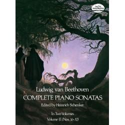 Beethoven: Complete Piano Sonatas - Volume II (Dover Edition)~ Album Instrumental (Piano Solo)