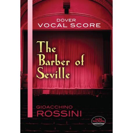 Rossini: Il Barbiere Di Siviglia (Vocal Score) - Dover Edition~ Partitions Vocale (Opéra)