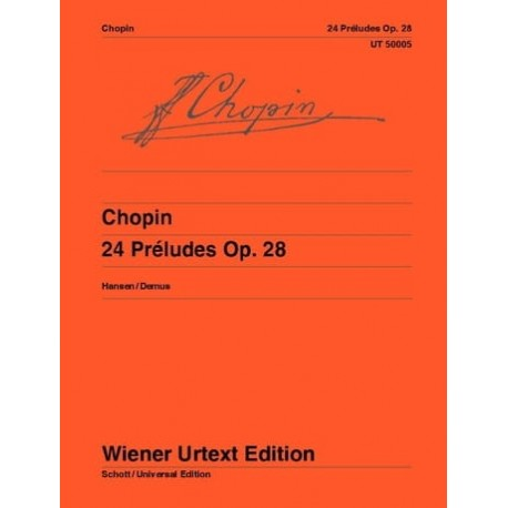 Chopin: Two Preludes (OP.28, Nos. 7 and 20)~ Oeuvre Instrumentale (Piano Solo)