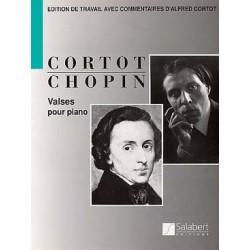 CHOPIN: VALSES (14) REV. CORTOT PIANO