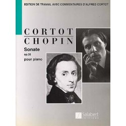 CHOPIN : SONATE OP 35 REV CORTOT PIANO