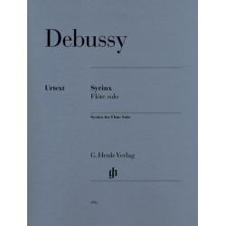 Debussy: Syrinx (Henle Urtext Edition)~ Oeuvre Instrumentale (Flûte Traversière)