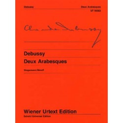Debussy: Deux Arabesques (Wiener Urtext Edition)~ Oeuvre Instrumentale (Piano Solo)