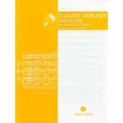 DEBUSSY: CLAIR DE LUNE (SUITE BERGAMASQUE ) Flûte et piano