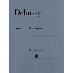 DEBUSSY: POUR LE PIANO Piano