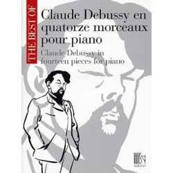 Debussy: The Best Of Claude Debussy In Fourteen Pieces For Piano~ Album Instrumental (Piano Solo)