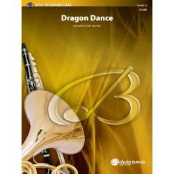 Dragon Dance By Michael Story Concert Band Conductor Score Grade: 0.5 (Very Easy)