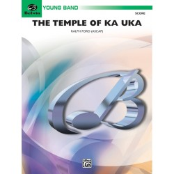 The Temple of Ka Uka By Ralph Ford Concert Band Conductor Score Grade: 2 (Easy)