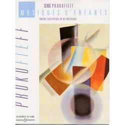 PROKOFIEV : MUSIQUES D'ENFANTS OP. 65 Piano
