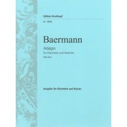 Heinrich Joseph Baermann Adagio in Des-Dur - Klarinette Klavier