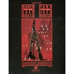 Heinz Both Tanz- und Jazz-Duette, Bd. 1 - Klarinetten