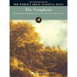 The World's Great Classical Music: The Symphony - Easy/Intermediate Piano~ Album Instrumental (Piano, Chant et Guitare, Piano So