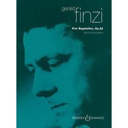 Gerald Finzi 5 Bagatelles op. 23