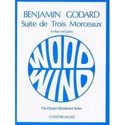 Benjamin Godard Suite de trois morceaux op. 116 flute et piano