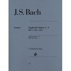 BACH JS SUITES ANGLAISES (HN) 1-3